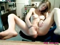 Web cam girl masturbate