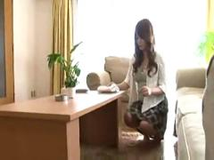 Japanese girl in interesting situation