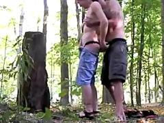 Nice fuck in forest
