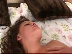 hardcore, creampie, blowjob, brunette, pussyfucking