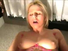anal, cum, sex, blonde, shaved, amateur, homemade, realamateur, couple, piercedclit