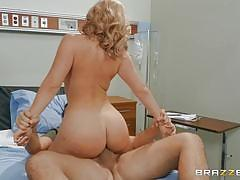 Doctor savannah bond tempted by patient's big dick