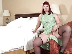 Bbw mature is too horny today