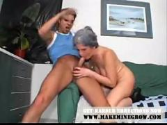 Granny ass fucked by youngster