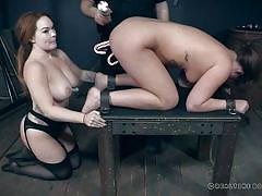 threesome, anal, bdsm, big tits, babe, torture, redhead, fetish, ffm, sex slaves, food fetish, real time bondage, maddy oreilly
