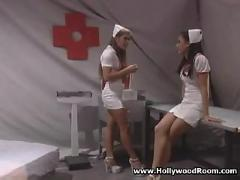 Naughty squirting nurse