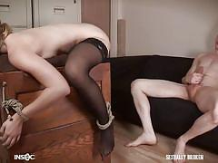 Riley is fucked at the office