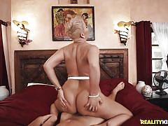 milf, facesitting, blonde, handjob, big ass, big tits, deepthroat, picked up, titjob, riding cock, reverse cowgirl, pussy eating, milf hunter, reality kings, ryan keely, robby echo
