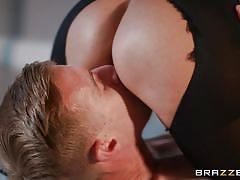 milf, facesitting, handjob, massage, big tits, huge cock, pussy licking, bubble butt, from behind, oiled tits, 69 position, dirty masseur, brazzers network, danny d, alyssia kent