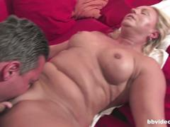 Blonde german milf gets pounded