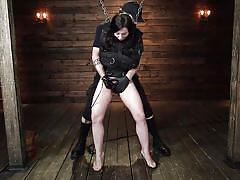 Straitjacket and chains