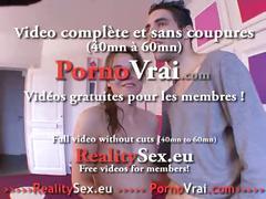Sodomie en cachette de son mari ! french amateur