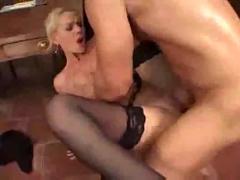 anal, cumshot, blonde, milf, blowjob, pussyfucking