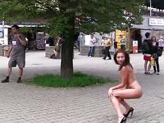 babes, brunettes, flashing, pornstars, public nudity