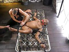 Black guy with a huge dick was brutally punished and fucked