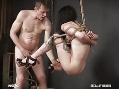 Lydia get's fucked while hanging