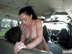 Leila larocco fucks not for money but for orgasm