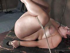 milf, threesome, bdsm, big ass, whipping, domination, vibrator, tied up, executors, bbw, real time bondage, mimosa