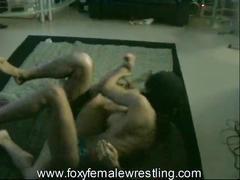 ebony, fetish, hardcore, kink, black, mixed wrestling, topless wrestling