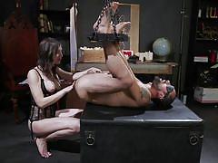 Dj gets fucked in the ass by the busty tranny korra del rio