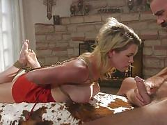 Kit mercer gets whipped and face fucked