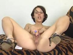 brunettes, fingering, masturbation