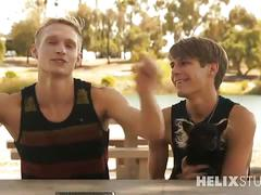 Young hot queers max carter and kyle ross