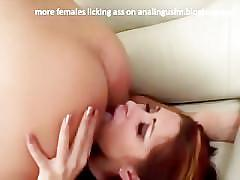 Best of ass licking - girls rimming men - compilation