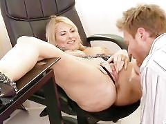 big tits, blonde, milf, busty, big-boobs, mom, mother, bubble-butt, pussy-licking, blowjob, heels, big-tits, cumshot, facial, hardcore, natural-tits