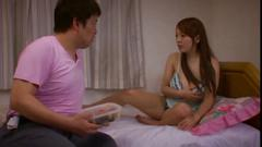 Giant titted hitomi tanaka in her bedroom