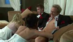The royal reception
