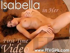 Perfection girl isabella fingers herself