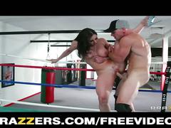 Kendra lust gets fucked in the ring