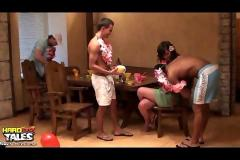 Hawaii group sex party pt 1