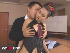Maria ozawa school girl sex in stockings part 2
