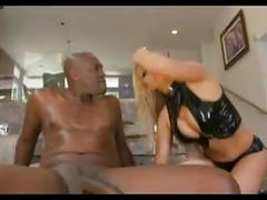 Blonde soccer mom speared by hung black guy