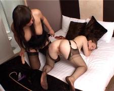 British lesbians in mild bondage