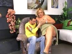 Granny fucks young boy