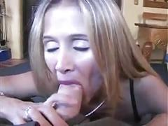 Milf blonde loves sex and cumshot