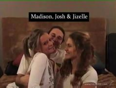 Jizelle and josh with madison