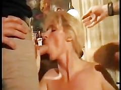 blonde, cumshots, milf, mom, mother, orgasm, shaved, stocking, pussy-eating, cock-sucking, big-dick, 69, threesome, dp, ass-fucking, raw, doggy-style
