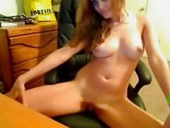 Rubia muy anal webcam