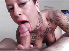 Puta locura hot tattoo latina brunette rides torbe