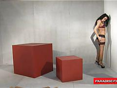 Paradise films hot german milf takes it rough