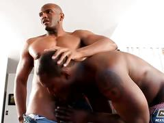 Monster black cocks pounding like crazy