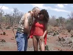 African safari sex