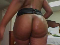 Hard black dick in phat ebony ass