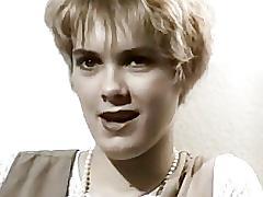 Une amatrice blonde dans les annã©es 60