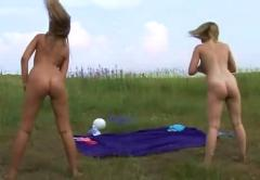 Nude sports outdoor