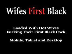 Brunette wifey's 1st black encounter